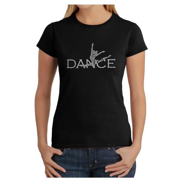Los Angeles Pop Art Women's Dancer T-shirt