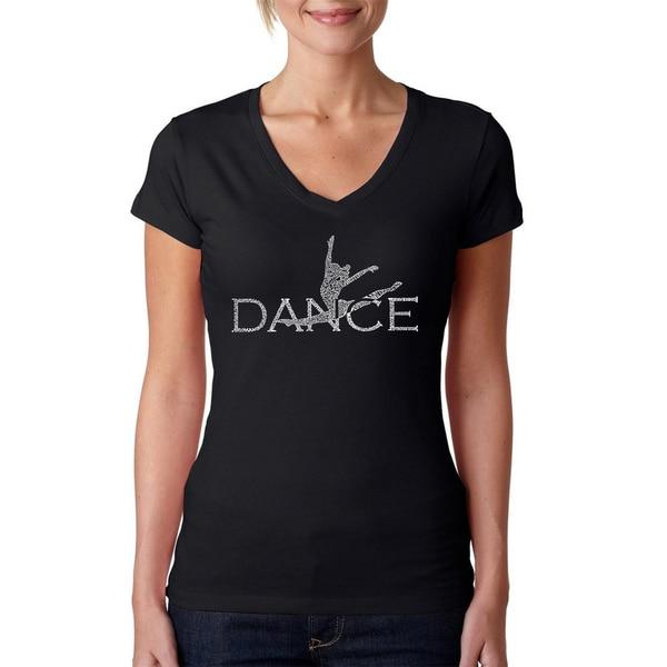 Women's Dancer V-neck T-shirt