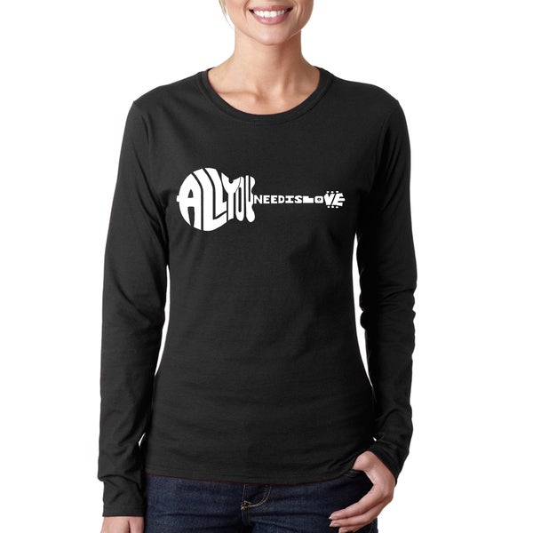 Women's All You Need Is Love Long Sleeve T-Shirt
