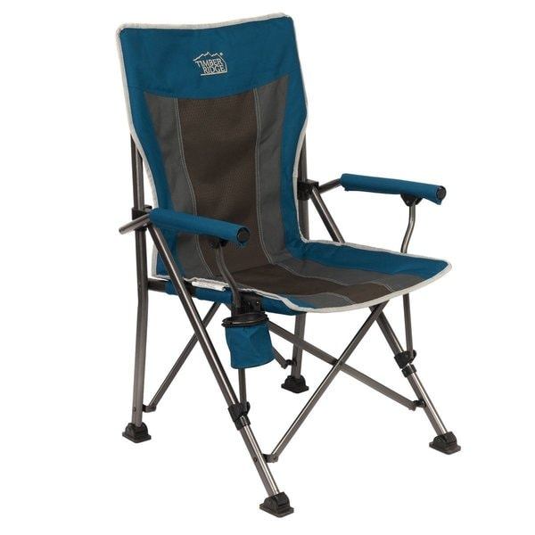 Timber Ridge Smooth Glide Lightweight Padded Folding Chair 19291172