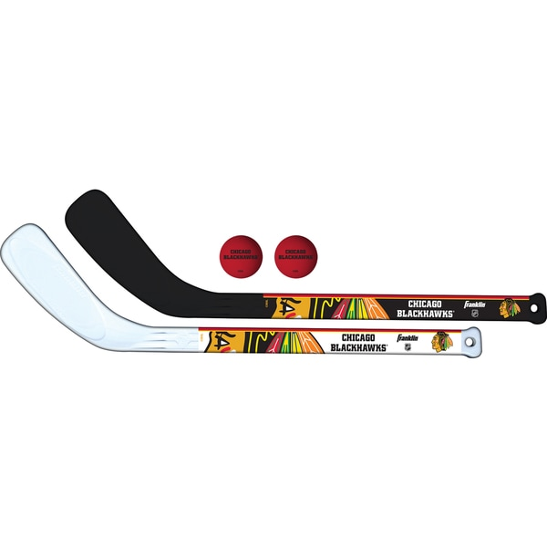 Franklin Sports NHL Chicago Blackhawks Mini Player Stick Set 19292101