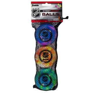 Franklin Sports NHL Extreme Color High Density Balls (Pack of 3)