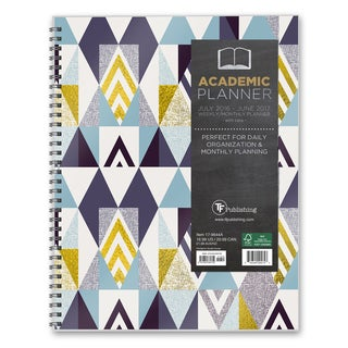 Soho Shapes 2017 Academic Year Multicolor Paper Organizer