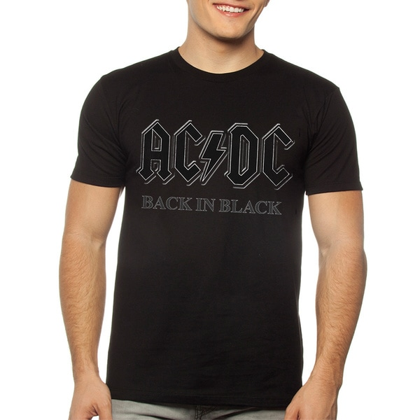 Men's AC/DC Back in Black S/S Tee