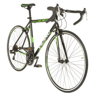 Vilano R2 Commuter Black Steel and Aluminum Shimano 21-speed Road Bike with 700c Wheels