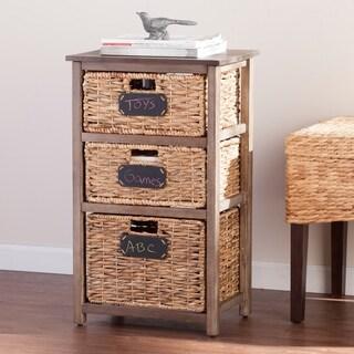 Upton Home Quimby Coastal 3-Drawer Storage
