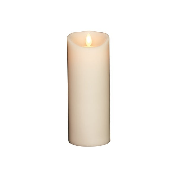 Torchier Ivory Wax 3.5-inch x 9-inch Vanilla Scented Flameless Pillar Candle