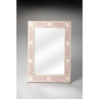Butler Vivienne Pink Bone Inlay Wall Mirror