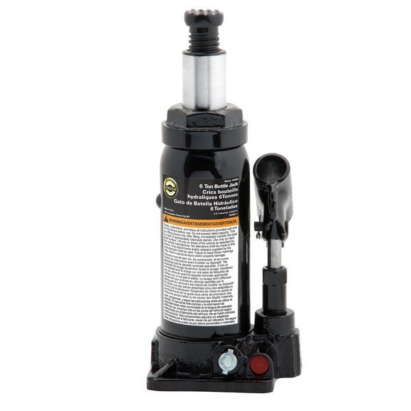 Omega 10065B 6-ton Hydraulic Bottle Jack
