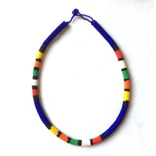 Zulu Traditional Beaded Necklace (South Africa)