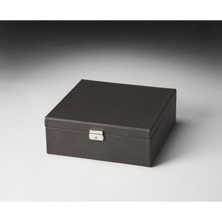 Butler Lido Brown Leather Storage Case