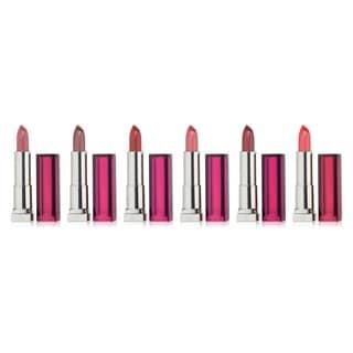 Maybelline Color Sensational Pink 8-piece Lipstick Set