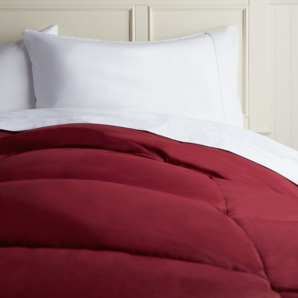 Hotel Madison Cotton Island 15-inch Box Stitch Down Comforter