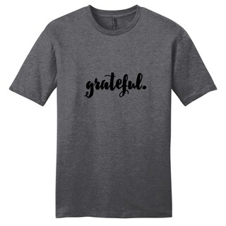 'Grateful' Motivational Unisex T-Shirt