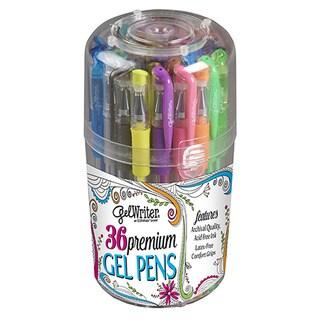 ECR4Kids GelWriter Comfort Grip Gel Pens in Pop-up Stand (Pack of 36)