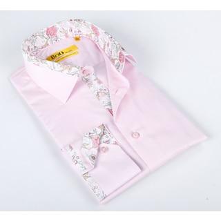 Brio Mens Pink Dress Shirt