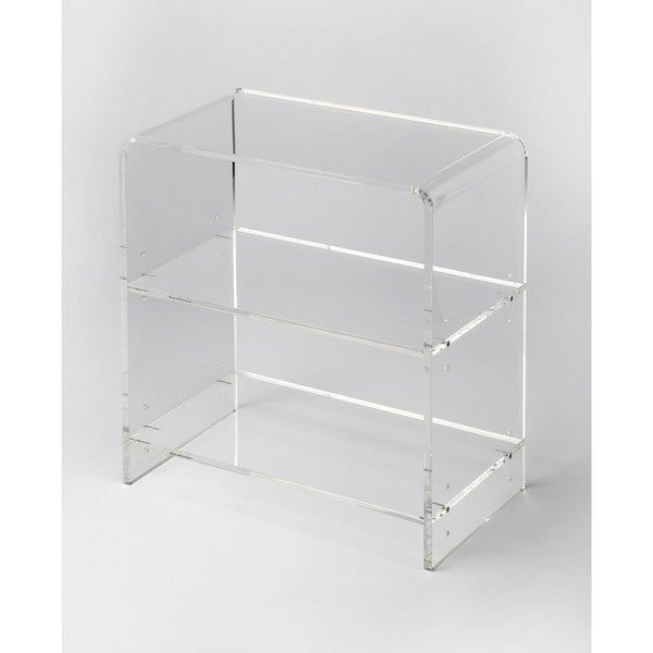 Butler Crystal Clear Acrylic Bookcase