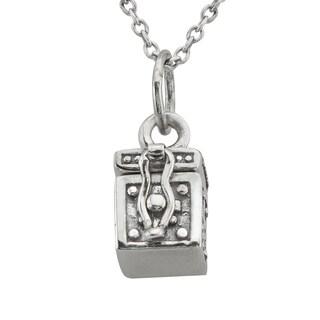 Haven Park Mini Coffin Pendant Necklace