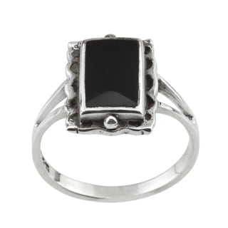 Haven Park Traditional Black Onyx Ring