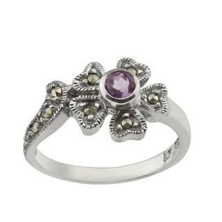 Haven Park Sterling Silver Flower Ring