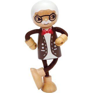 Hape Wood Modern Grandfather