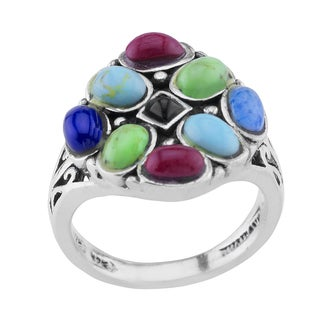 Haven Park Multi-stone Cluster Ring