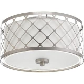 Progress Lighting P2330-0930K9 Mingle Grey Steel LED Flush Mount Light