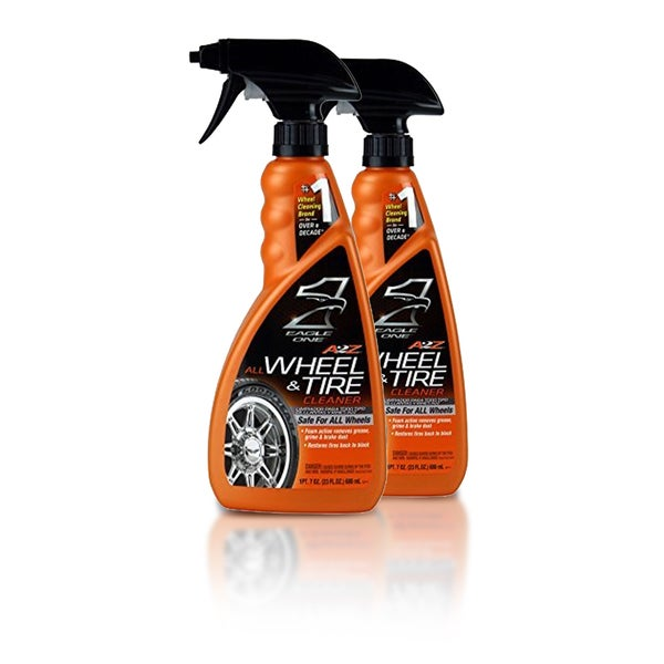 Eagle One A2Z All Wheel and Tire Cleaner 23-ounce Spray (Pack of 2)
