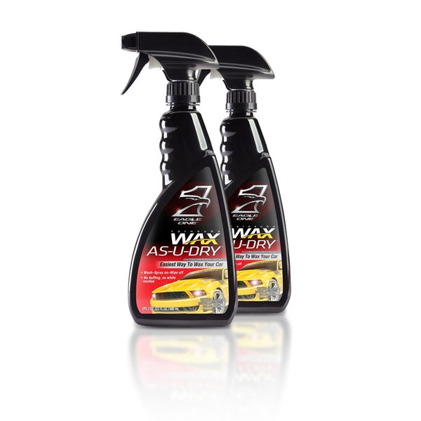 Eagle One Wax As-U-Dry 23-ounce Spray Wax (Pack of 2)