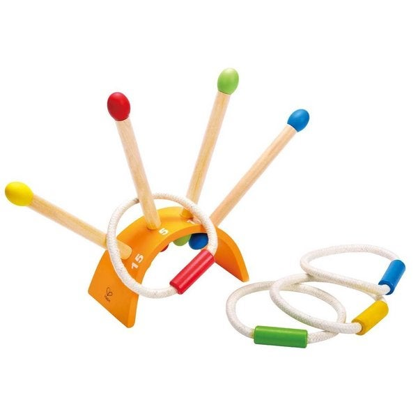 Hape the Ringer Wooden Ring Toss Game