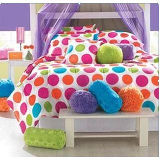 Polyester Polka Dots Print Comforter