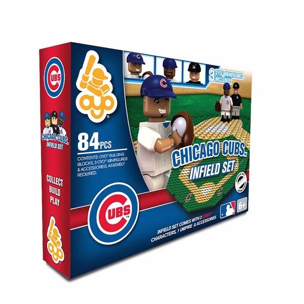 Chicago Cubs MLB 84 Piece Infield Set 2.0 19305421