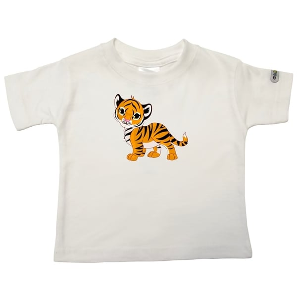 Infant Baby Tiger Print T-Shirt