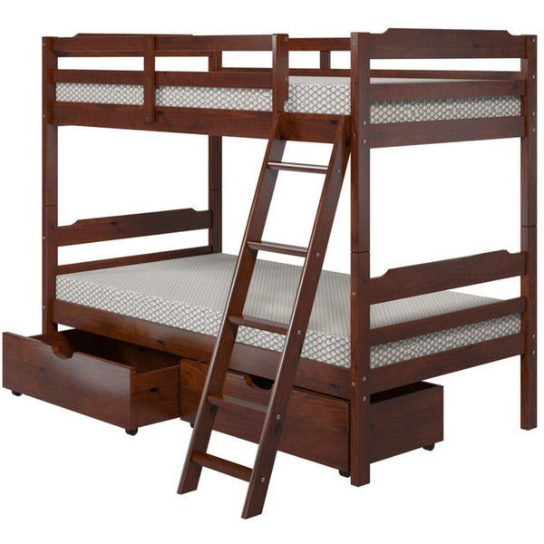 Manhattan Comfort Hayden Twin Storage Bunk Bed