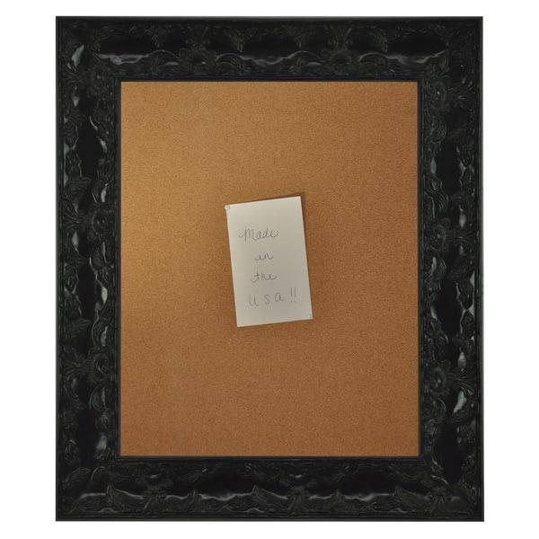 American Made Rayne Black Endicott Corkboard