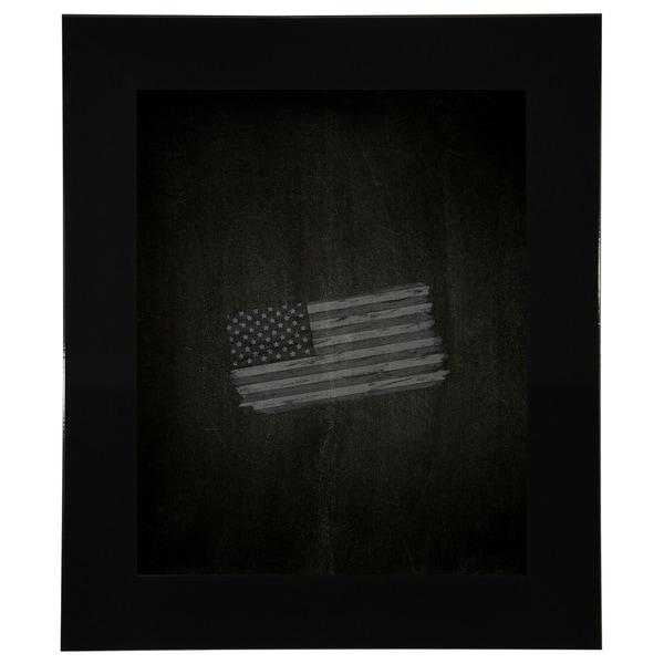 American Made Rayne Delta Black Blackboard/ Chalkboard