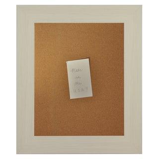 American Made Rayne Arctic Ivory Corkboard