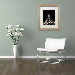 Philippe Hugonnard 'Eiffel Tower Paris' Matted Framed Art