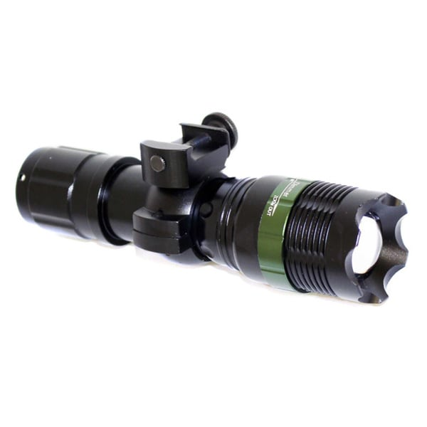 Trinity Tactical 300-lumen 3.5-watt LED Strobe Zoomable Flashlight/Weaponlight with Gun Mount