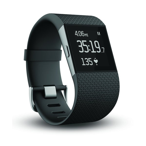Fitbit Surge GPS Activity Tracking Watch, Small (Black)