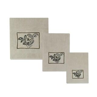 Sherry Kline Findlay 6-piece Embroidered Towel Set