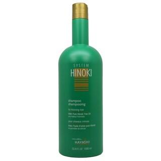 Hayashi System 33.8-ounce Hinoki Shampoo for Thinning Hair
