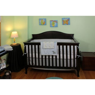 Nurture Imagination Elephant Jubilee 8-piece Crib Bedding Ensemble