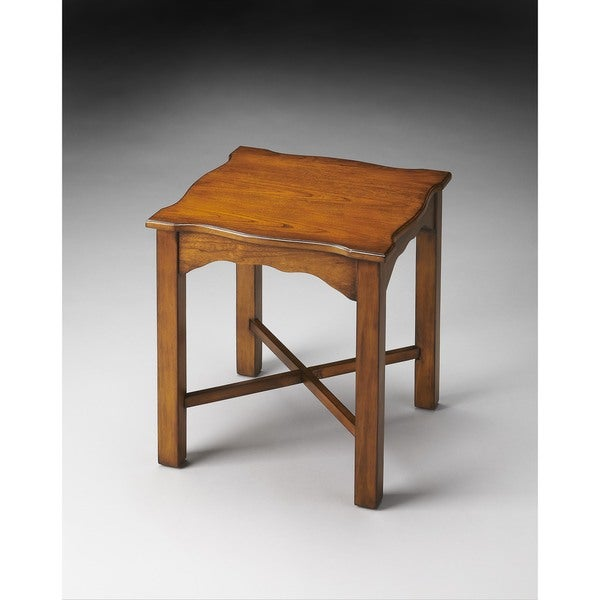 Butler Thomas Brown MDF, Wood Accent Table