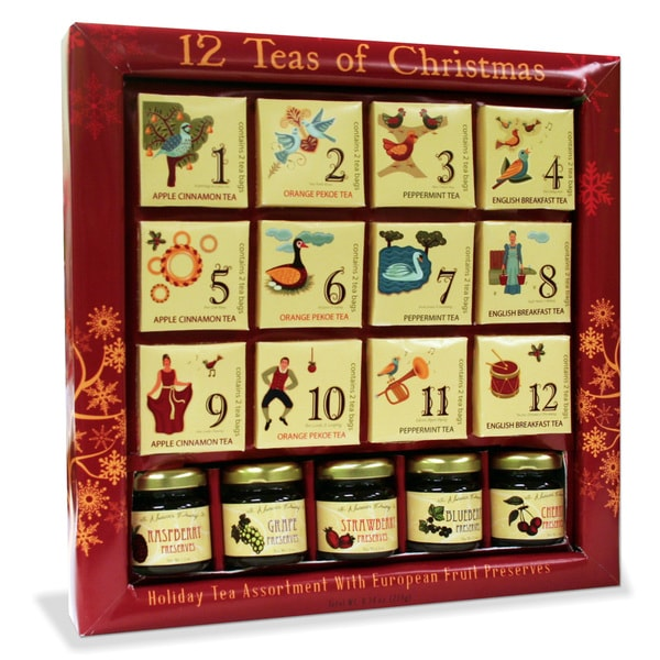 12 Teas of Christmas Gift Pack