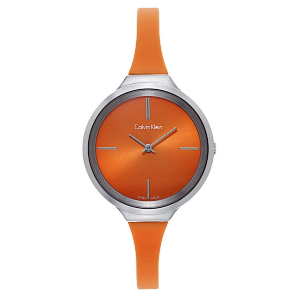 Calvin Klein Women's Orange Watch
