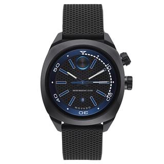 Movado Men's Stainless Steel Black Rubber Watch