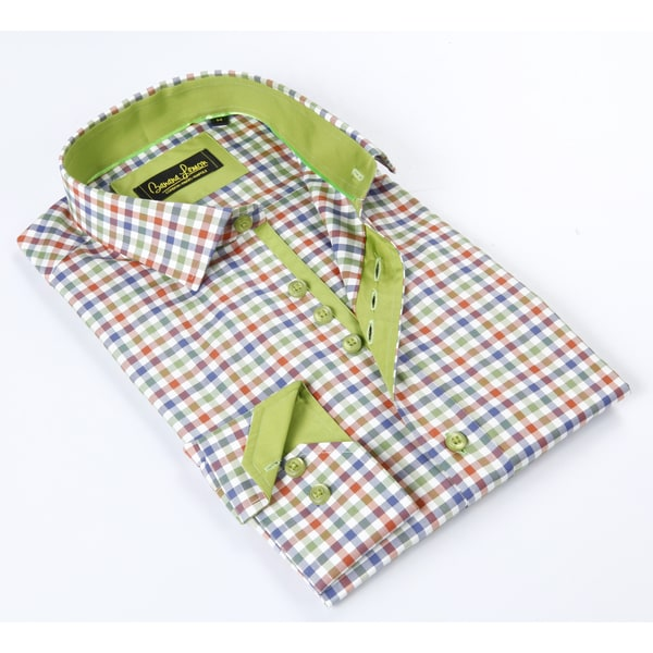 Banana Lemon Classic Multi Color Dress Shirt