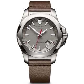 Victorinox Men's INOX 241738 Brown Leather Watch