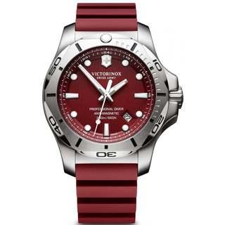 Victorinox Swiss Army INOX V241736 Red Stainless-steel Men's Watch